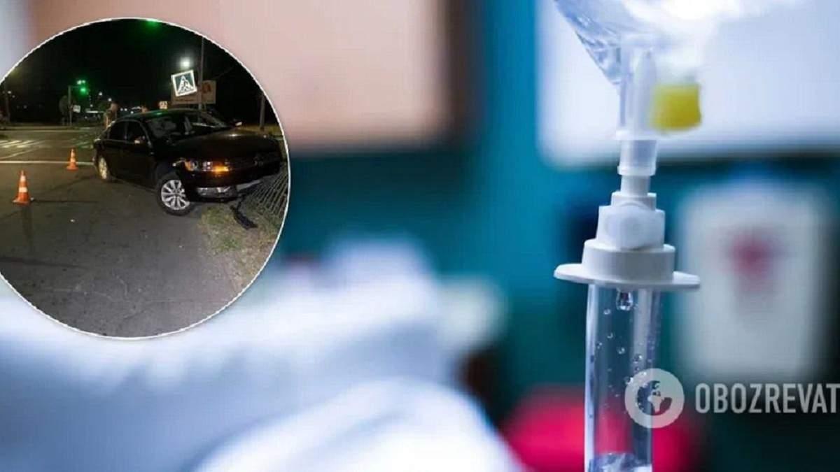 Стало відомо про стан дитини, збитої в Кривому Розі на пішохідному переході