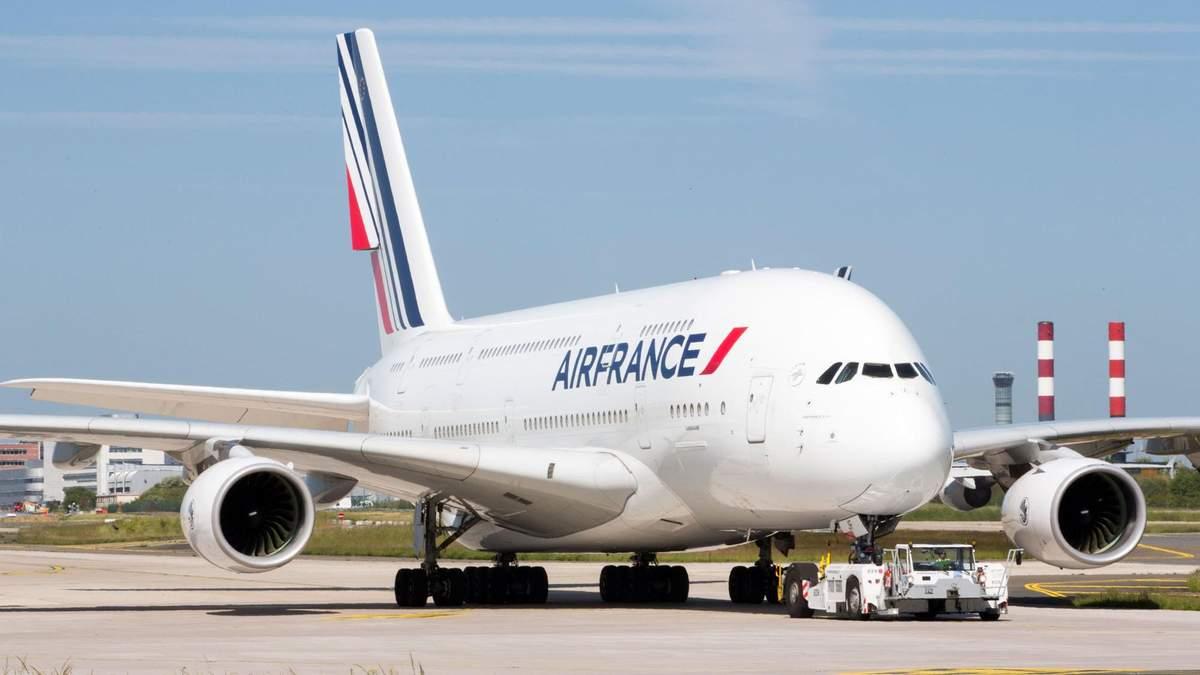 Самолет французской компании Air France