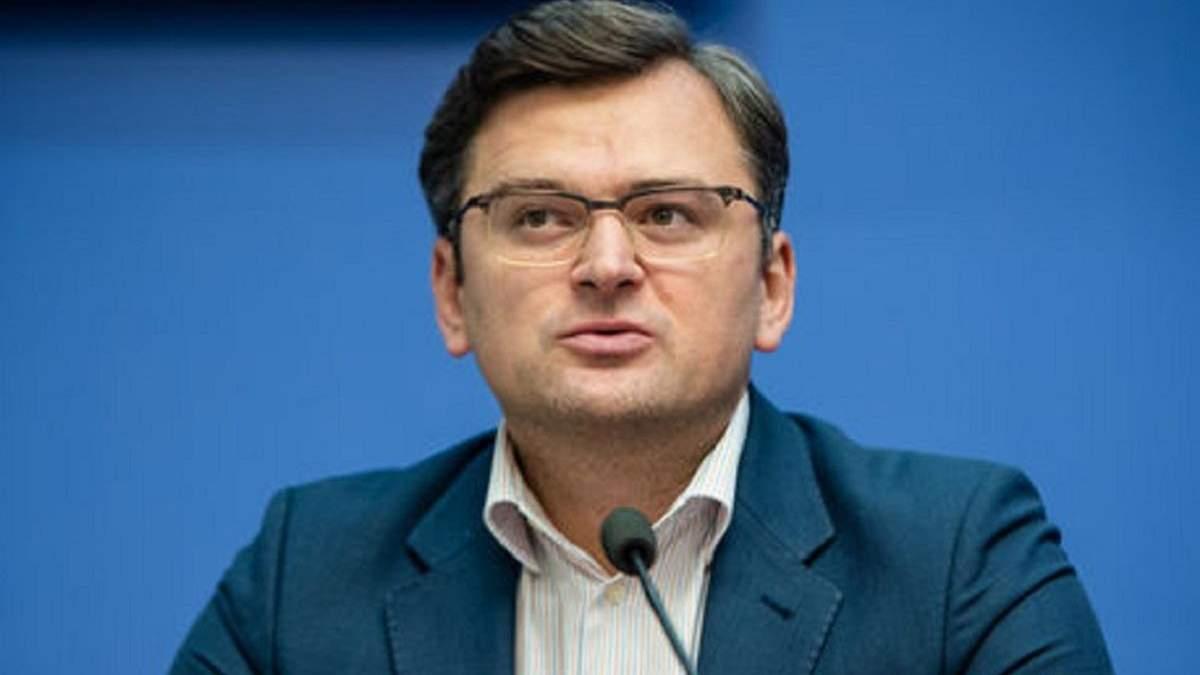 Ключ від миру в Україні перебувають у Москві, – Кулеба