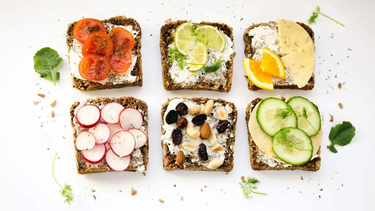 Це знахідка: які бутерброди ідеально підходять для перекусу?