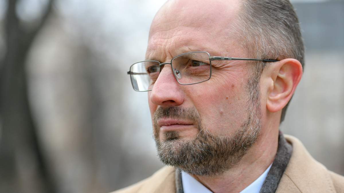 Украинский дипломат Роман Безсмертный