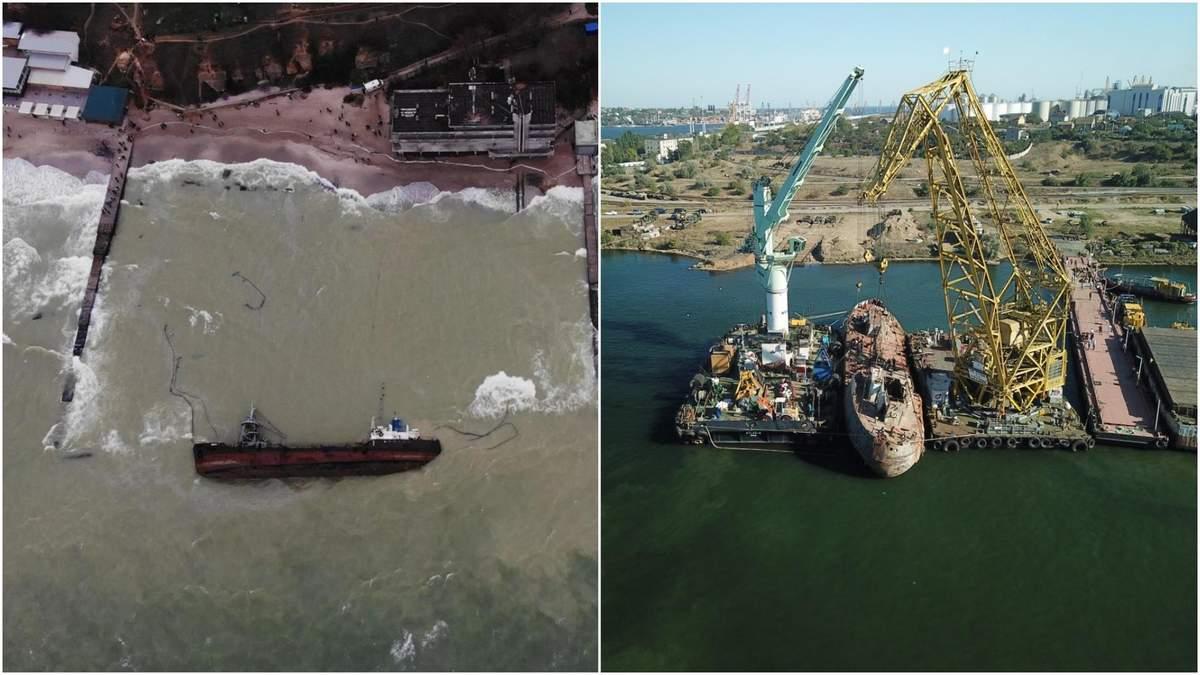 Танкер Delfi: известна сумма убытков от утечек нефти
