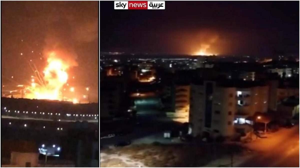 У Йорданії вибухнув склад з боєприпасами, є загиблі: відео