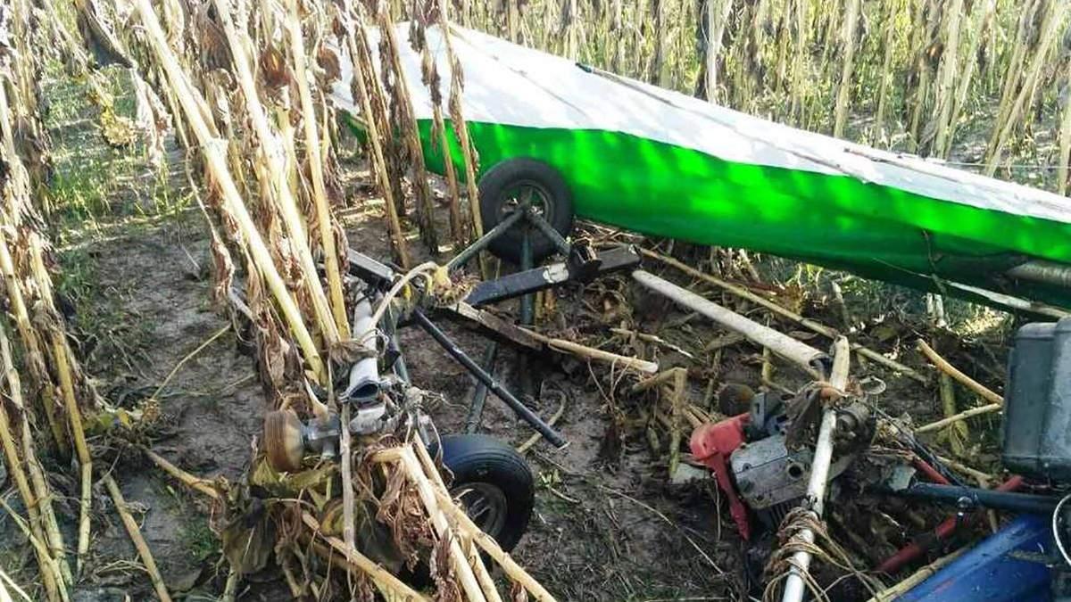 В Житомирской области на поле упал дельтаплан 11 сентября 2020: что известно