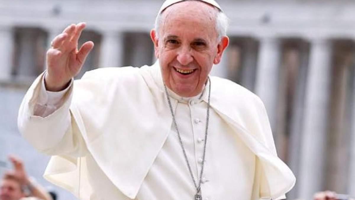 Папа Римский: Секс и еда - это удовольствия, подаренные Богом