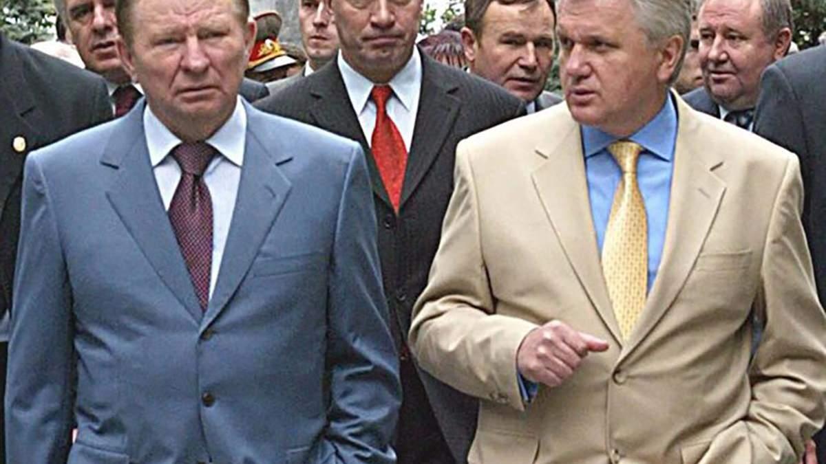 Леонид Кучма и Владимир Литвин