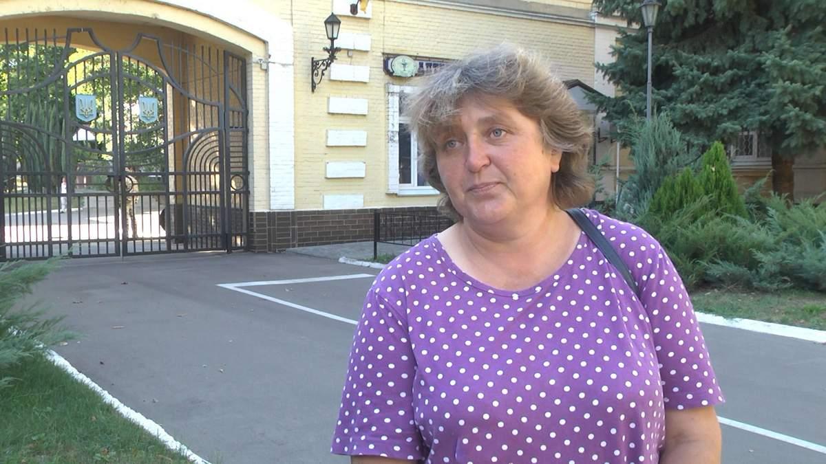 Мама курсантки Людмила Ніколаєва