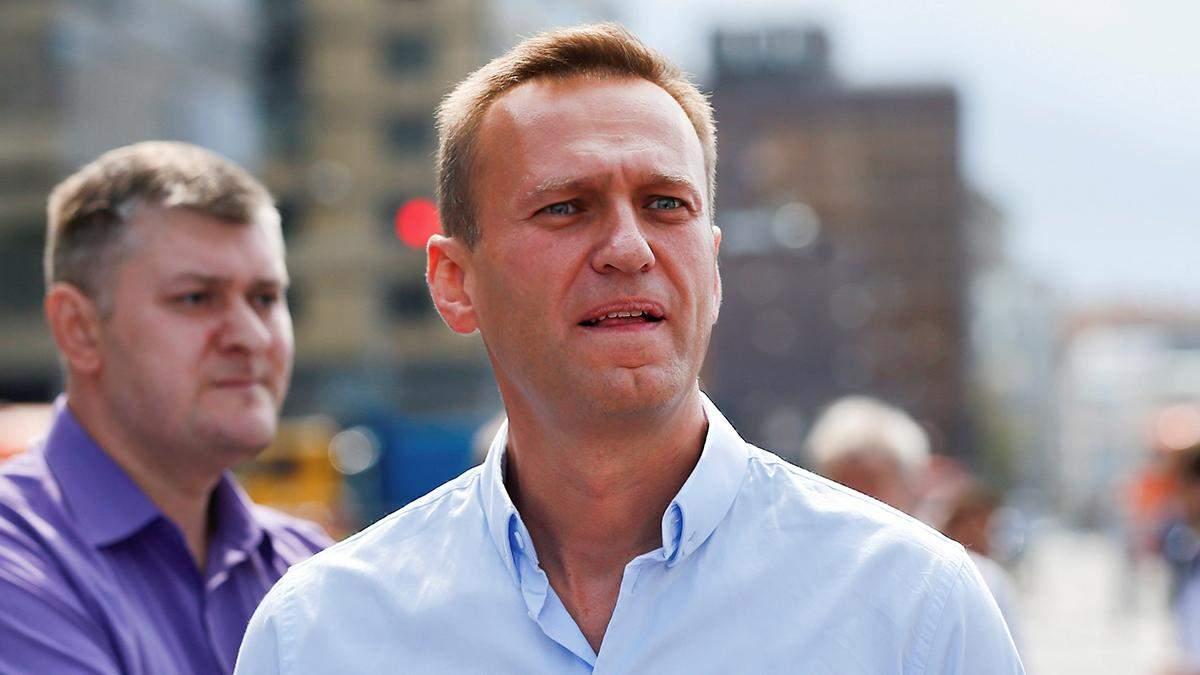 Данные Навального Германия передаст РФ только с согласия оппозиционера