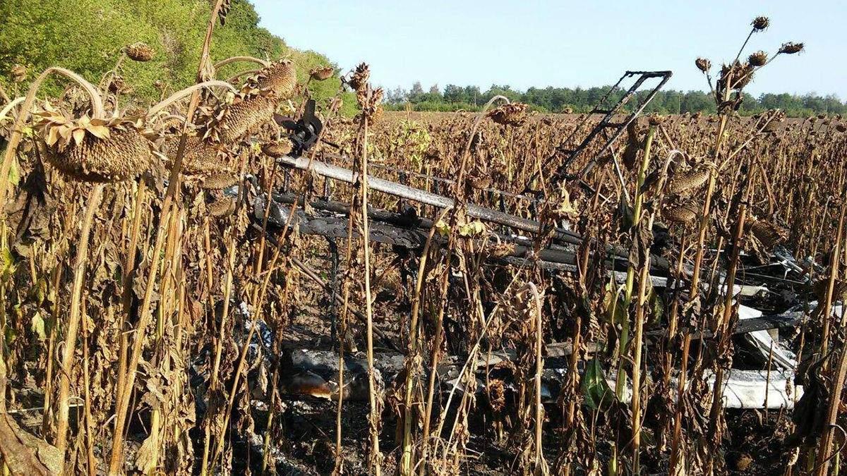 На Сумщине разбился легкомоторный самолет: пилот погиб - фото