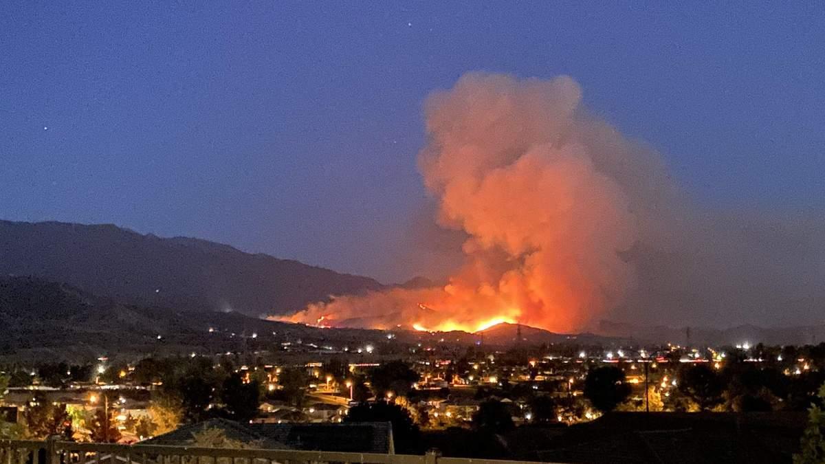 Пожежі на Західному узбережжі США: що відомо про причини