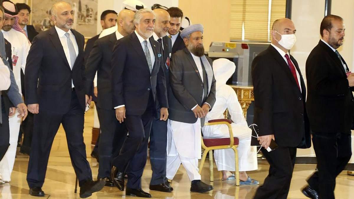 Афиганистан и талибы начали первые переговоры за 20 лет