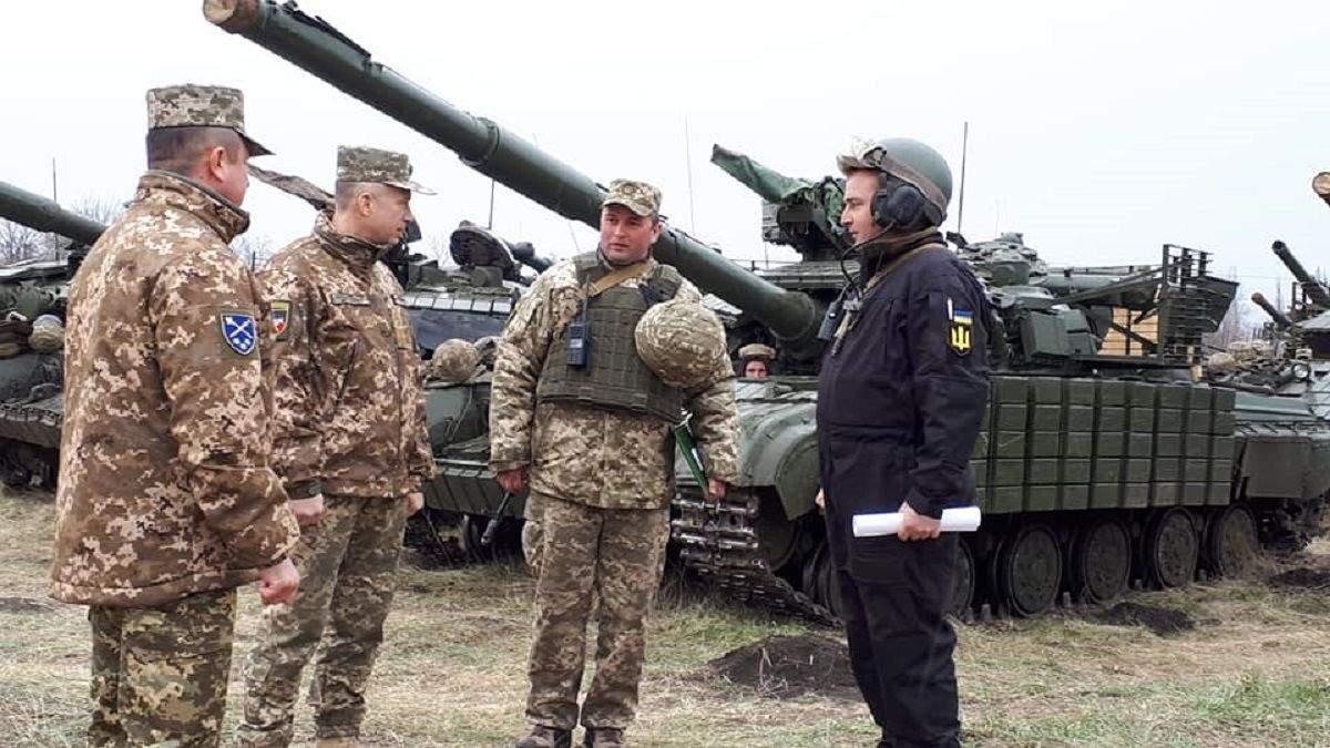 В Ровненской области прошли военные соревнования на звание лучших танкистов