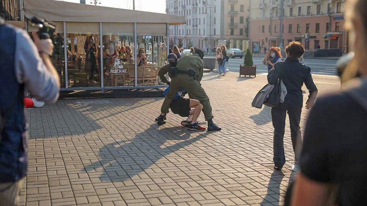 У Мінську затримали 70 учасників протестів