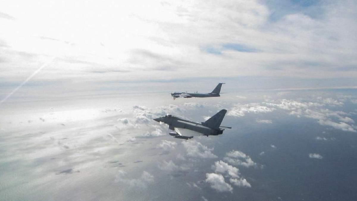 Винищувачі Британії перехопили літаки РФ біля Шотландії