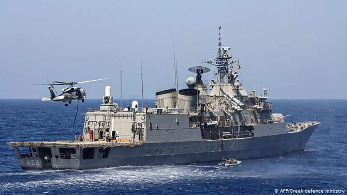 Грецький флот