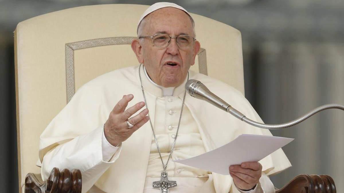 Папа Римский призвал власть уважать протестующих - 24 канал