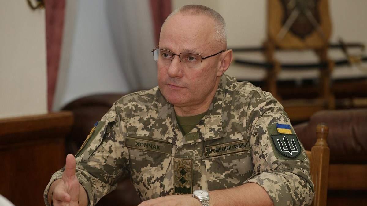 Головнокомандувач ЗСУ Хомчак одужав від COVID-19