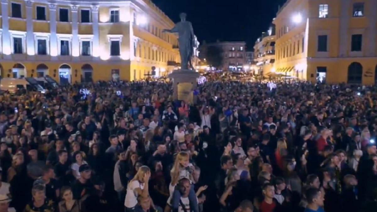 Гучне святкування Дня міста в Одесі: поліція відкрила справу