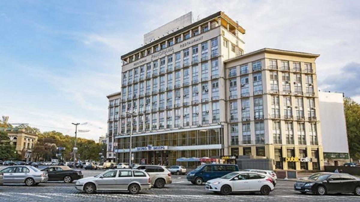 Понад мільярд гривень від продажу готелю Дніпро у бюджеті