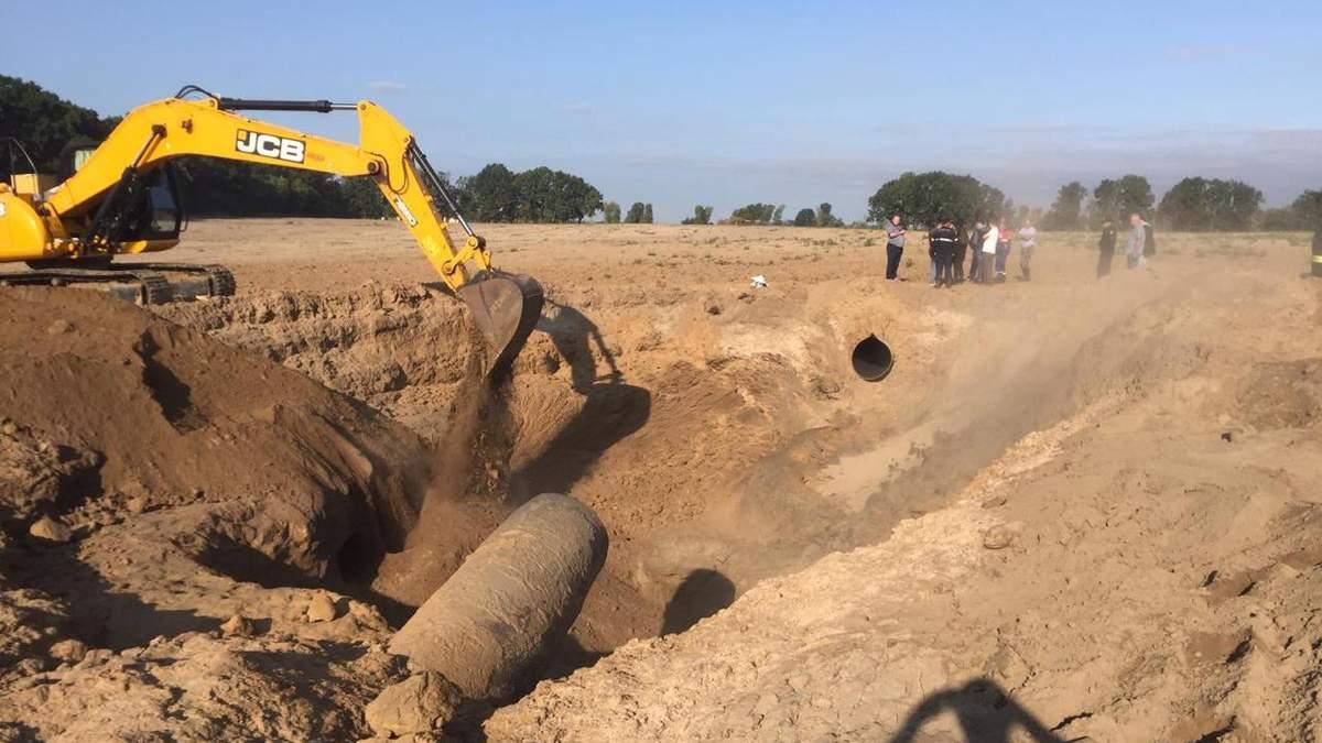 Взрыв на газопроводе в Чабанах: что говорит полиция