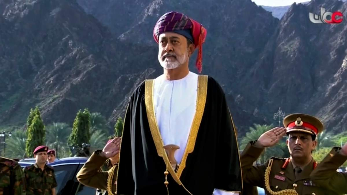 Новый султан Омана Хайт бин Тарик