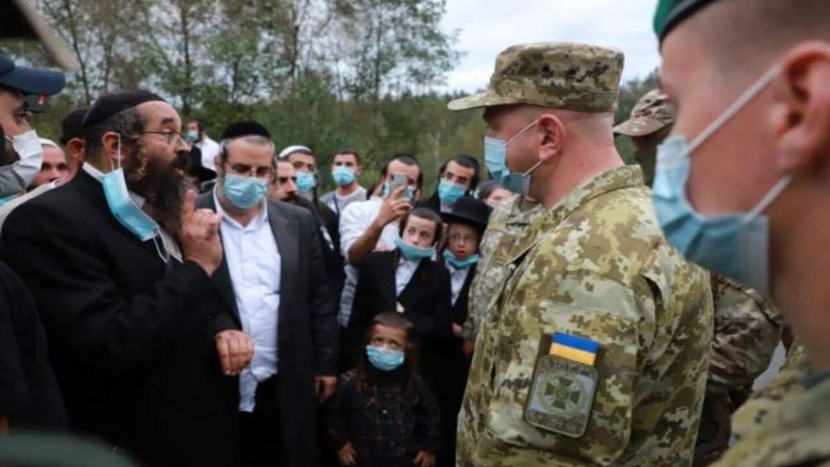МИД призывает Беларусь не оформлять хасидов на выезд в Украину