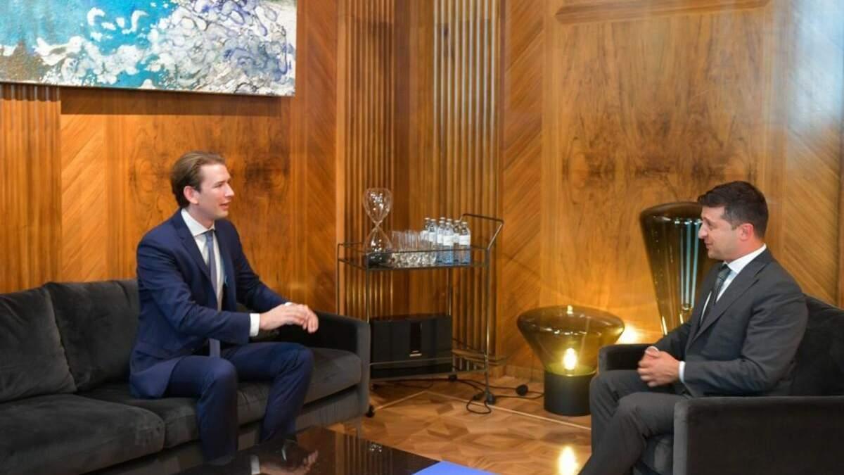 Зеленський і Курц прокоментували отруєння Навального
