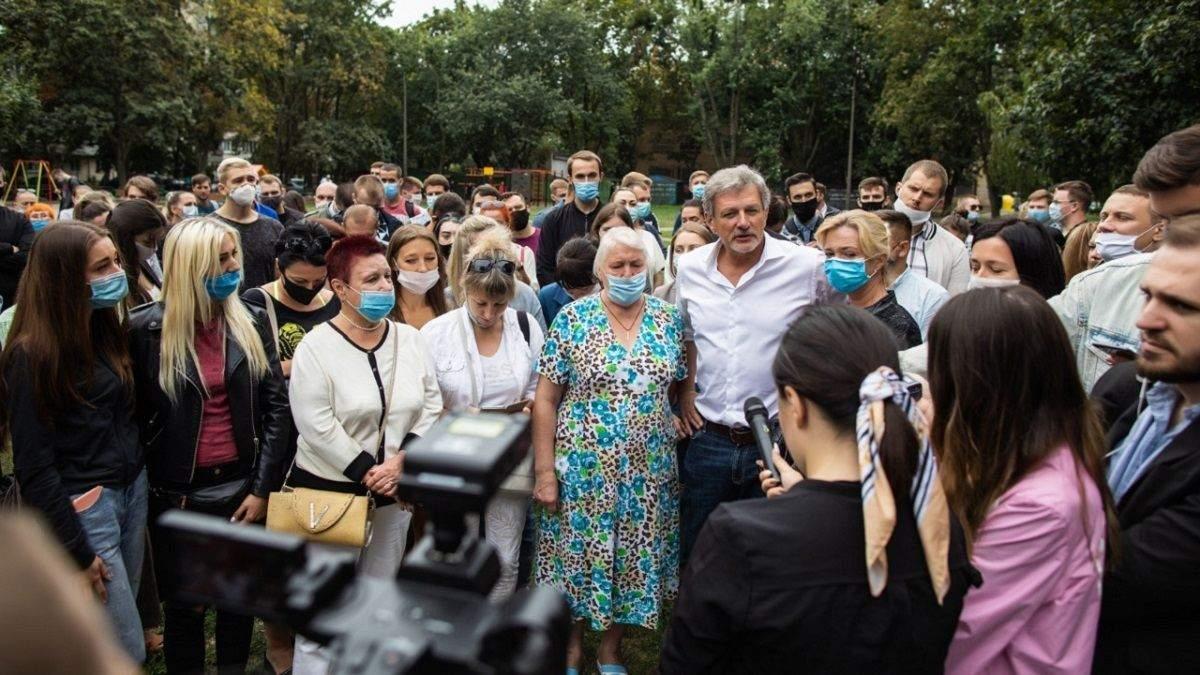 Пальчевский выдвинули в мэры на встрече с избирателями