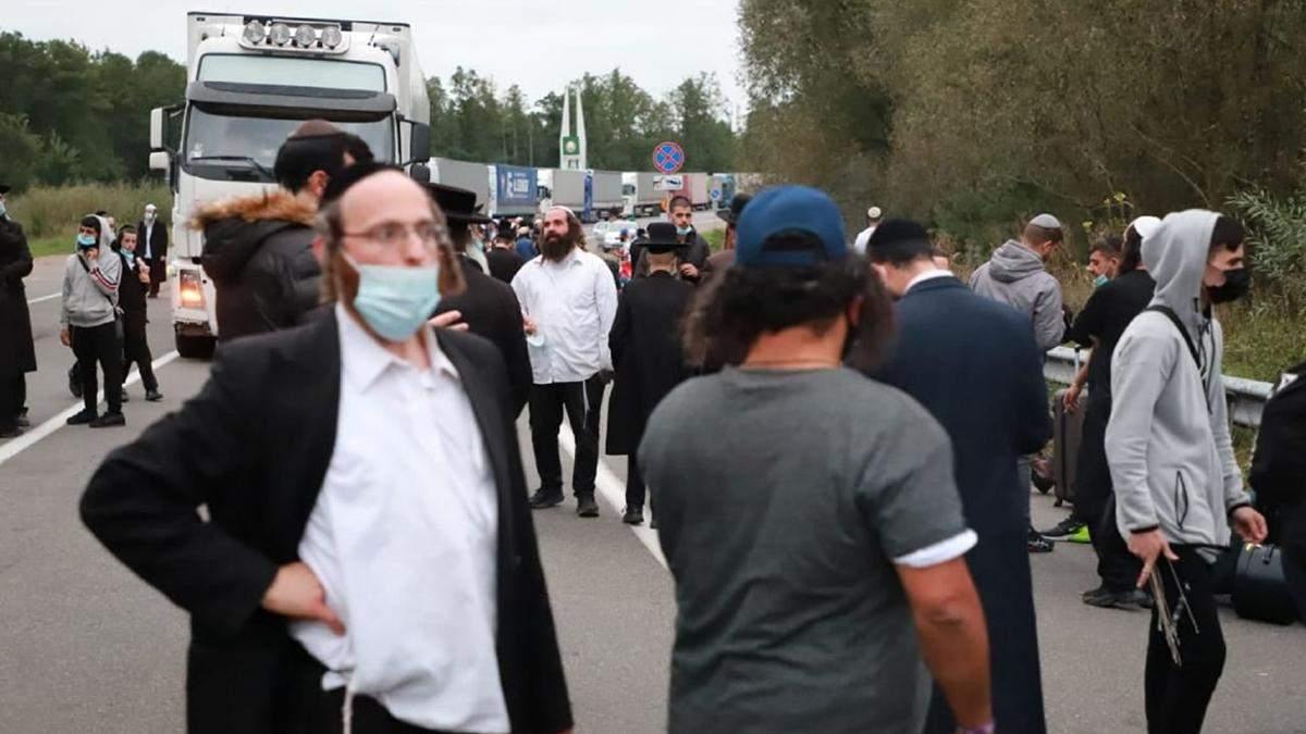 В Израиле попросили Зеленского пустить хасидов в Украину