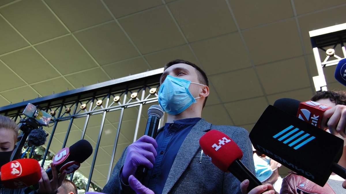 Чому Стерненко почав стрім одразу після нападу на себе