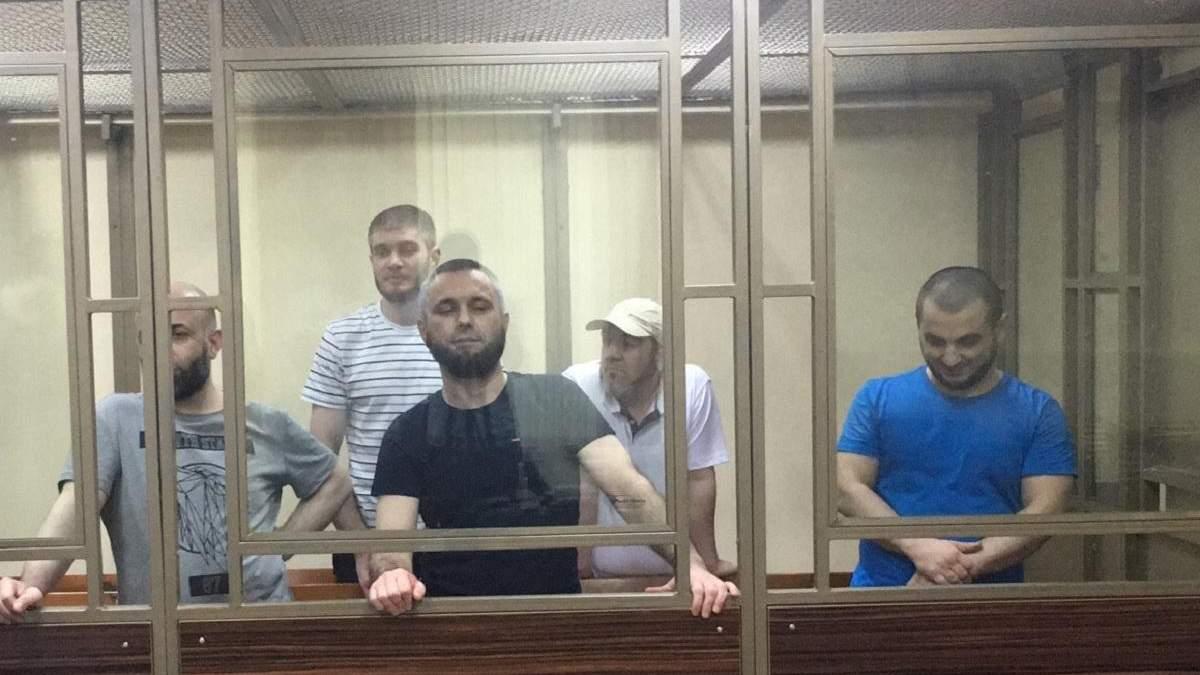 У РФ засудили фігурантів бахчисарайської справи Хізб ут-Тахрір