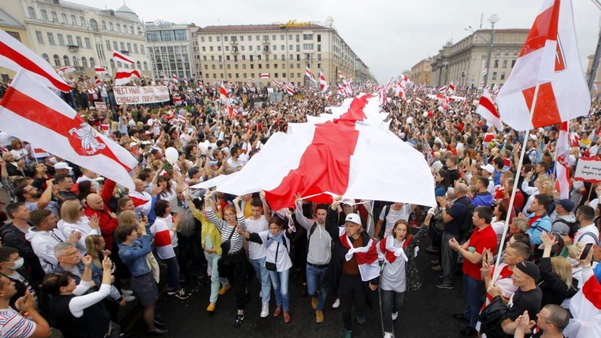 Изнасилование на протестах в Беларуси