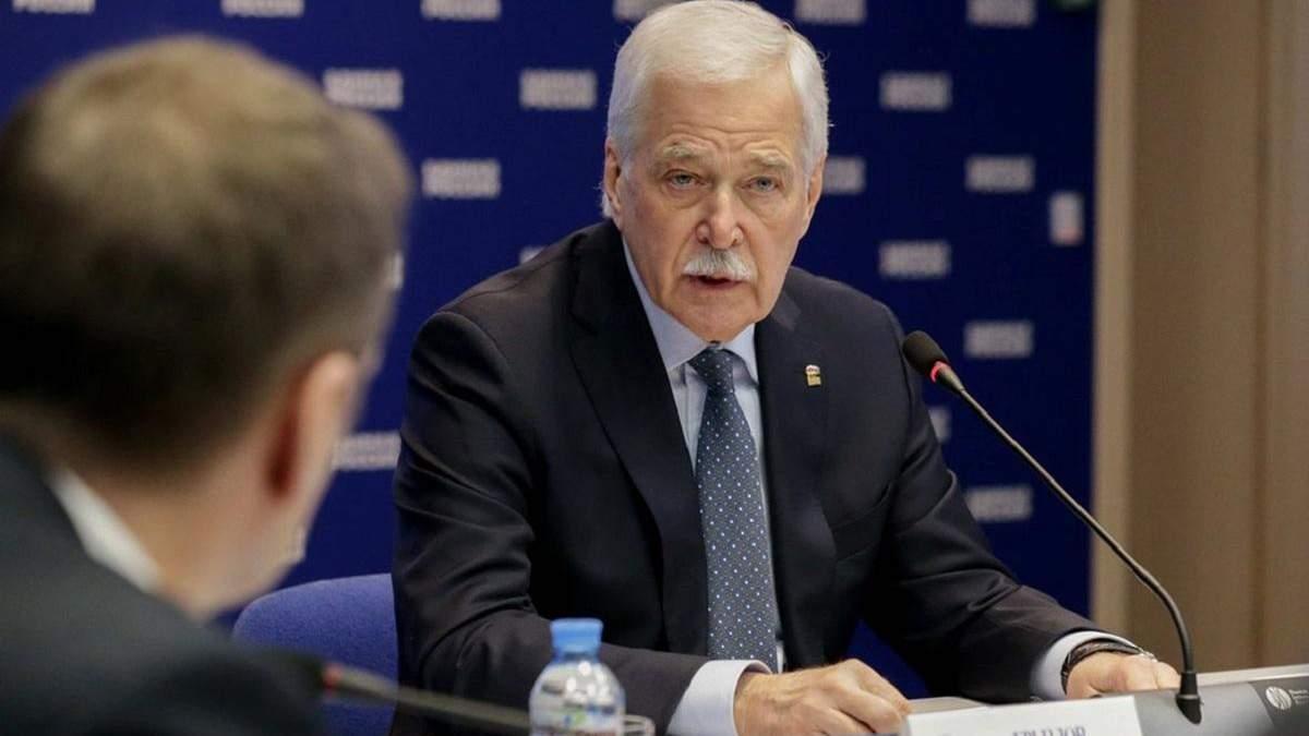 Росіянин Гризлов звинуватив Україну в порушенні домовленості про перемир'я