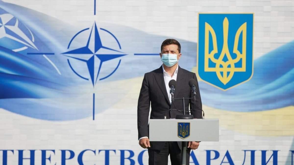 Зеленський сказав, що повернення наших територій є пріоритетом