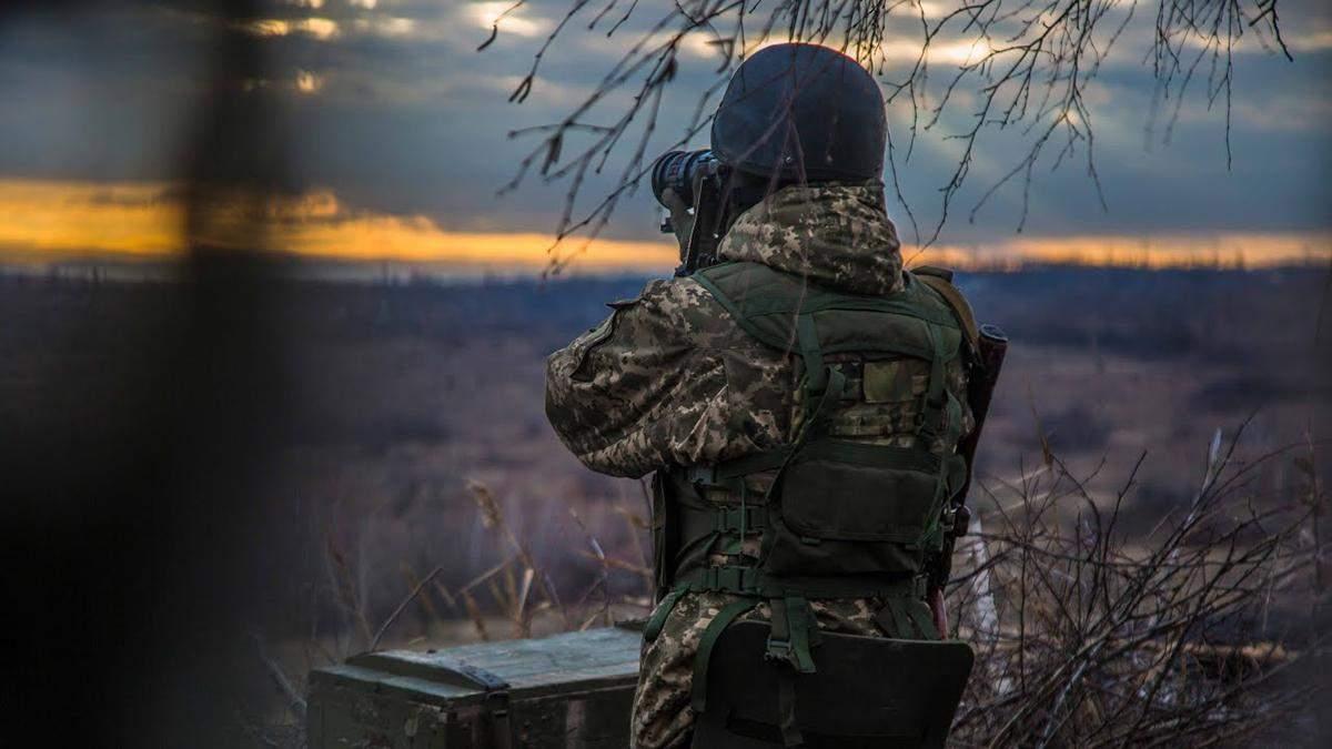 На Донбассе боевики совершили провокационные выстрелы у Водяного