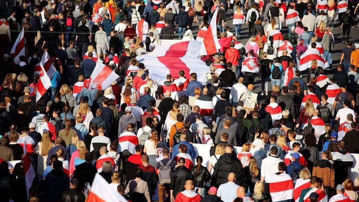 Протести в Білорусі сьогодні, 22 вересня 2020: новини та відео