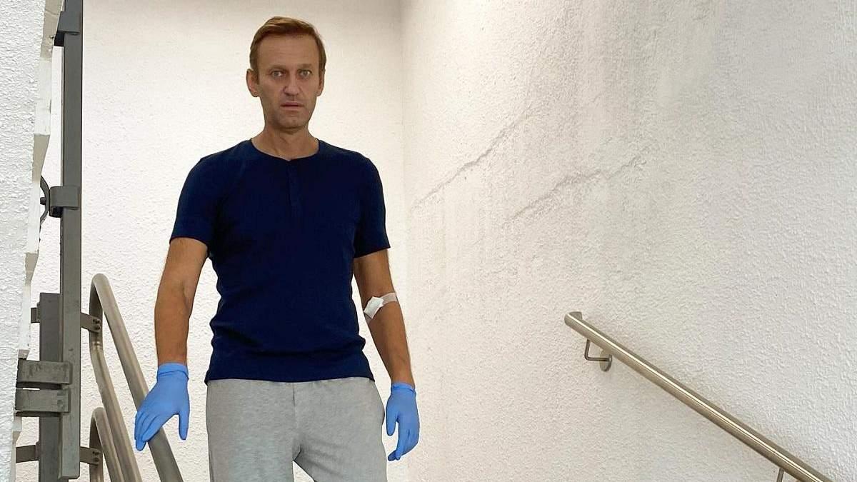 Навальний з жартами розповів про свій стан