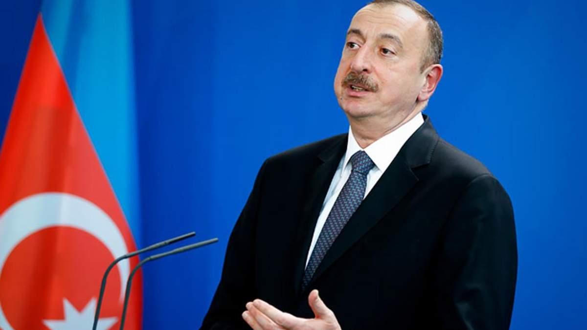 Президент Азербайджану Ільхам Алієв