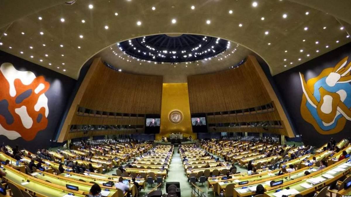 Росія і ще 12 країн не схотіли обговорювати запобігання геноциду та воєнним злочинам в ООН