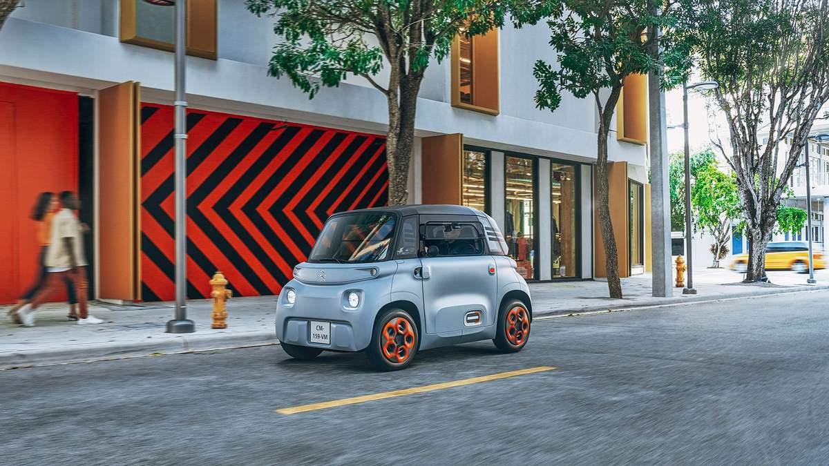 Нова модель Citroën Ami – фото, огляд, ціна