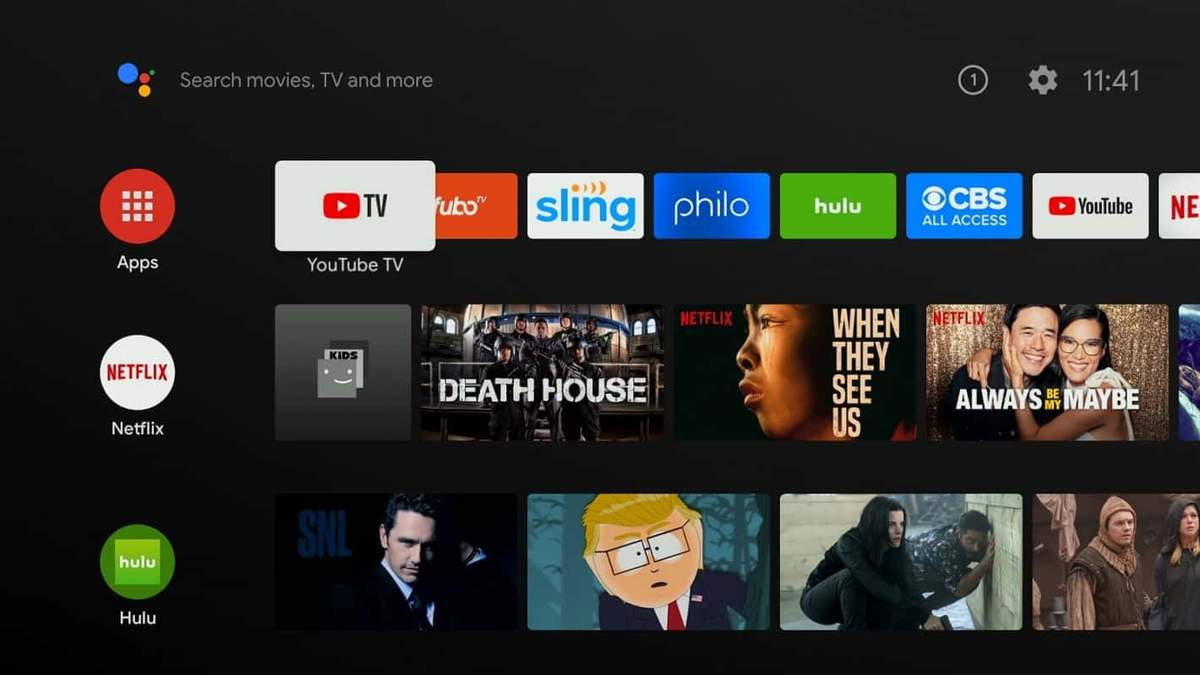 Новая операционная система Android TV 11