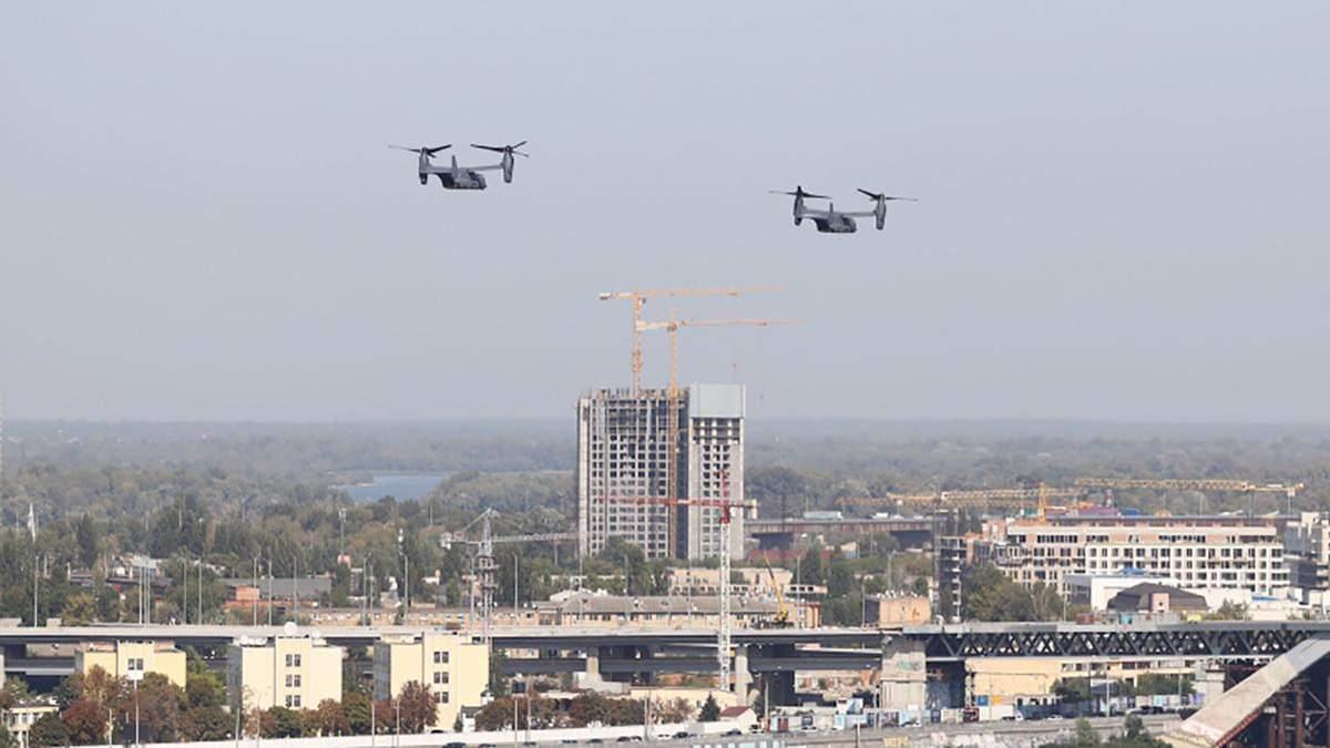 Літаки США над Києвом, містами України: відео, фото, що відомо