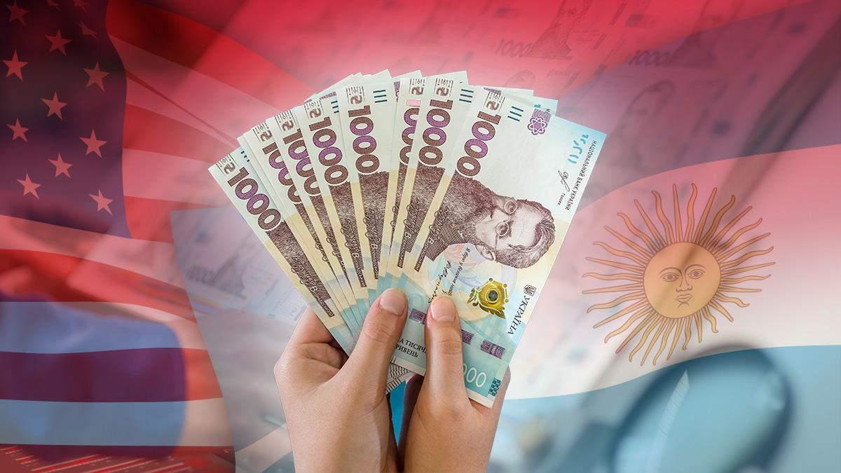 Печать гривны без инфляции в Украине: пример США и Аргентины