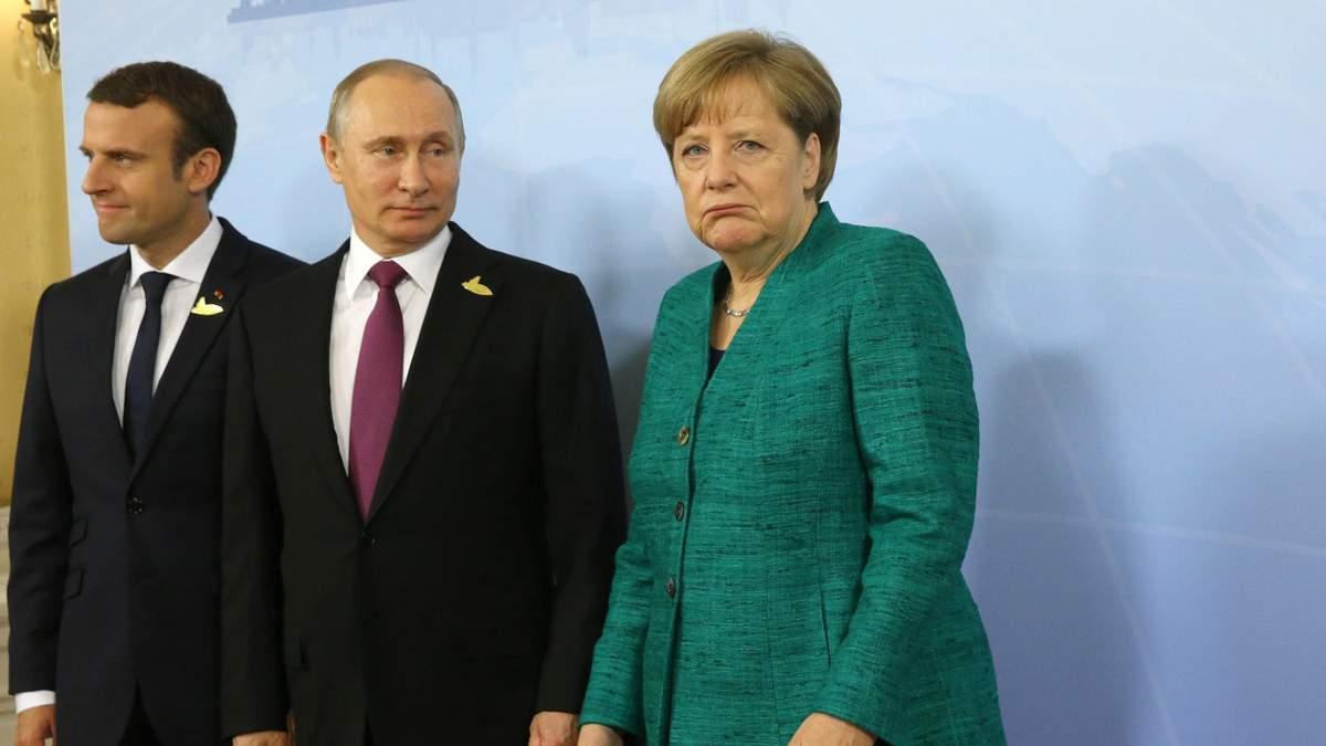 Путін - Європа жорстко змінить політику щодо Росії - 24 Канал