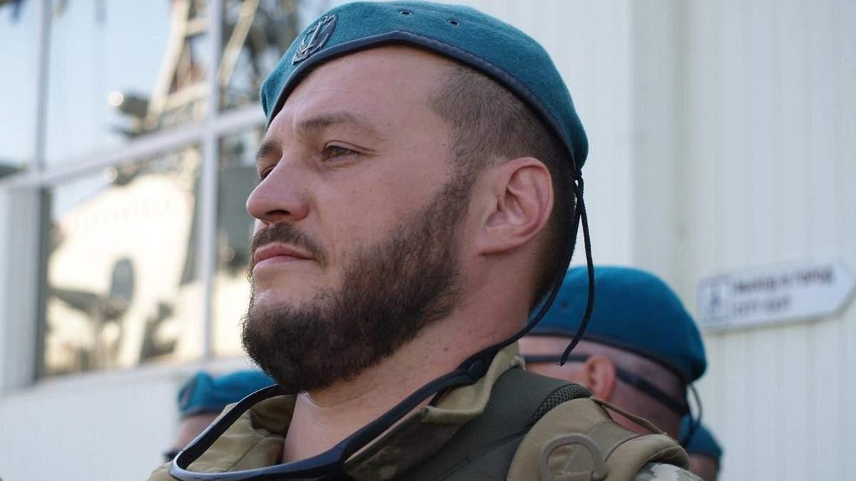 В больнице скончался украинский военный Константин Оверко