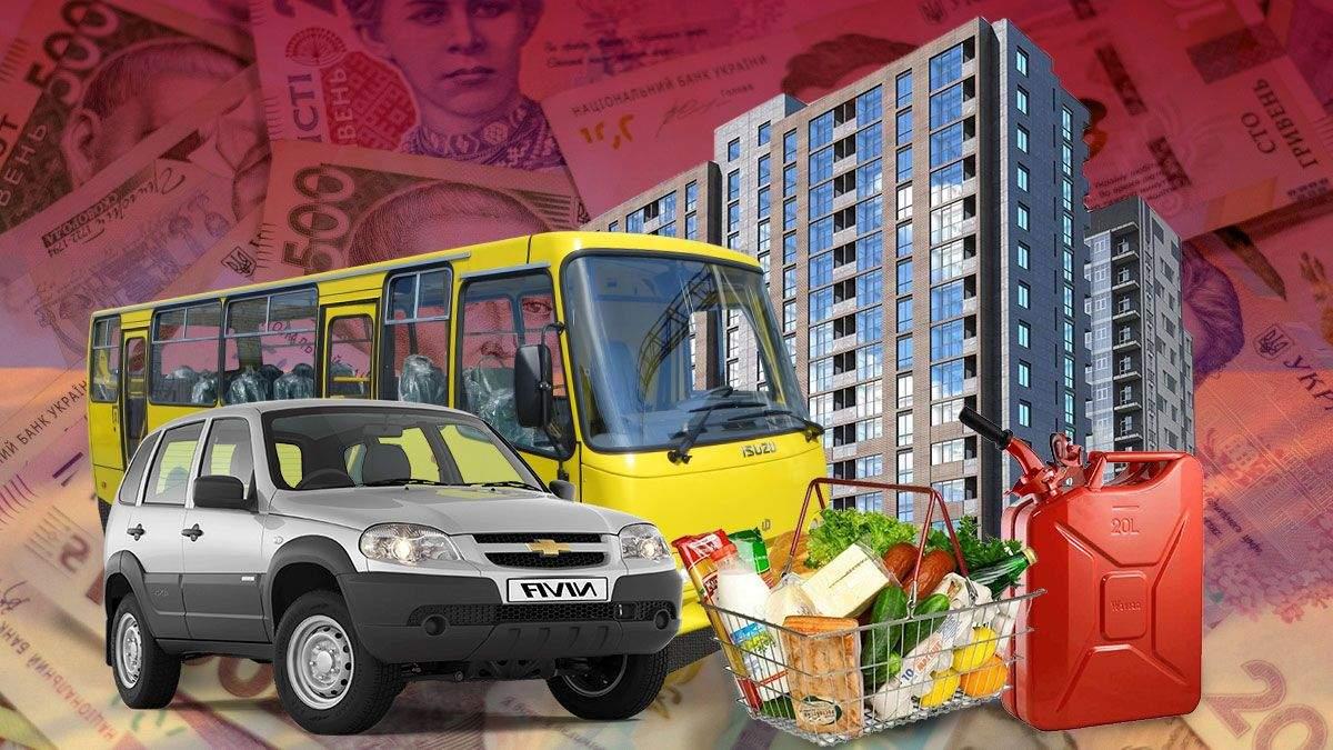 Рейтинг городов Украины 2020: цены на еду, алкоголь, жилье, бензин