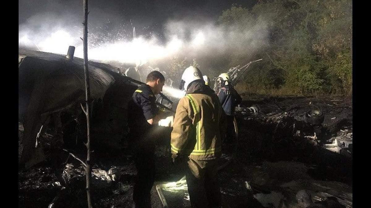 Вистрибнув з літака в останній момент: в авіакатастрофі в Чугуєві вижив лише один курсант