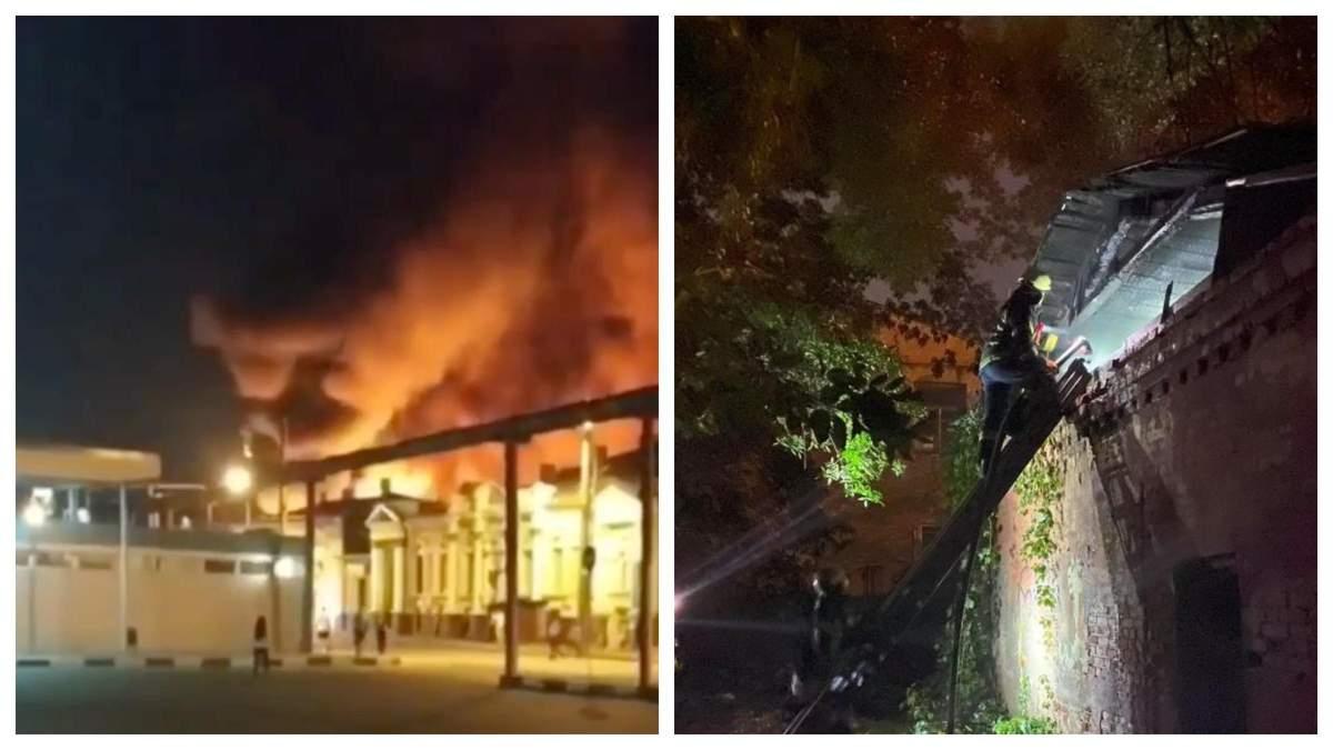 В центре Харькова произошел масштабный пожар: видео