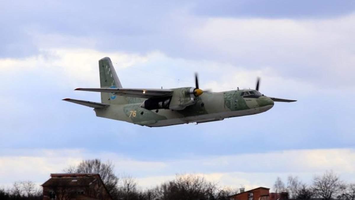 Біля Чугуєва впав такий Ан-26 – модифікація Ан26Ш