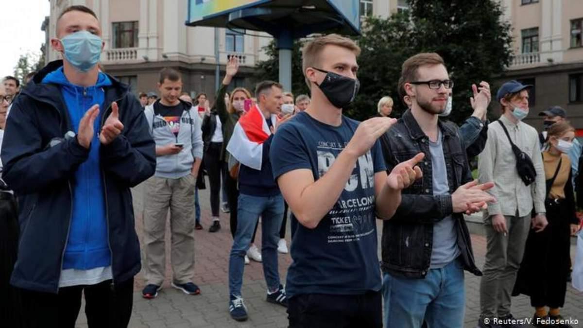 У МОЗ Білорусі прокоментували зв'язок між коронавірусом та протестами